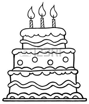 Coloriage Gateau Anniversaire 6 Bougies.Stock Photo Christmas Crafts Birthday Cake Clip Art Cake