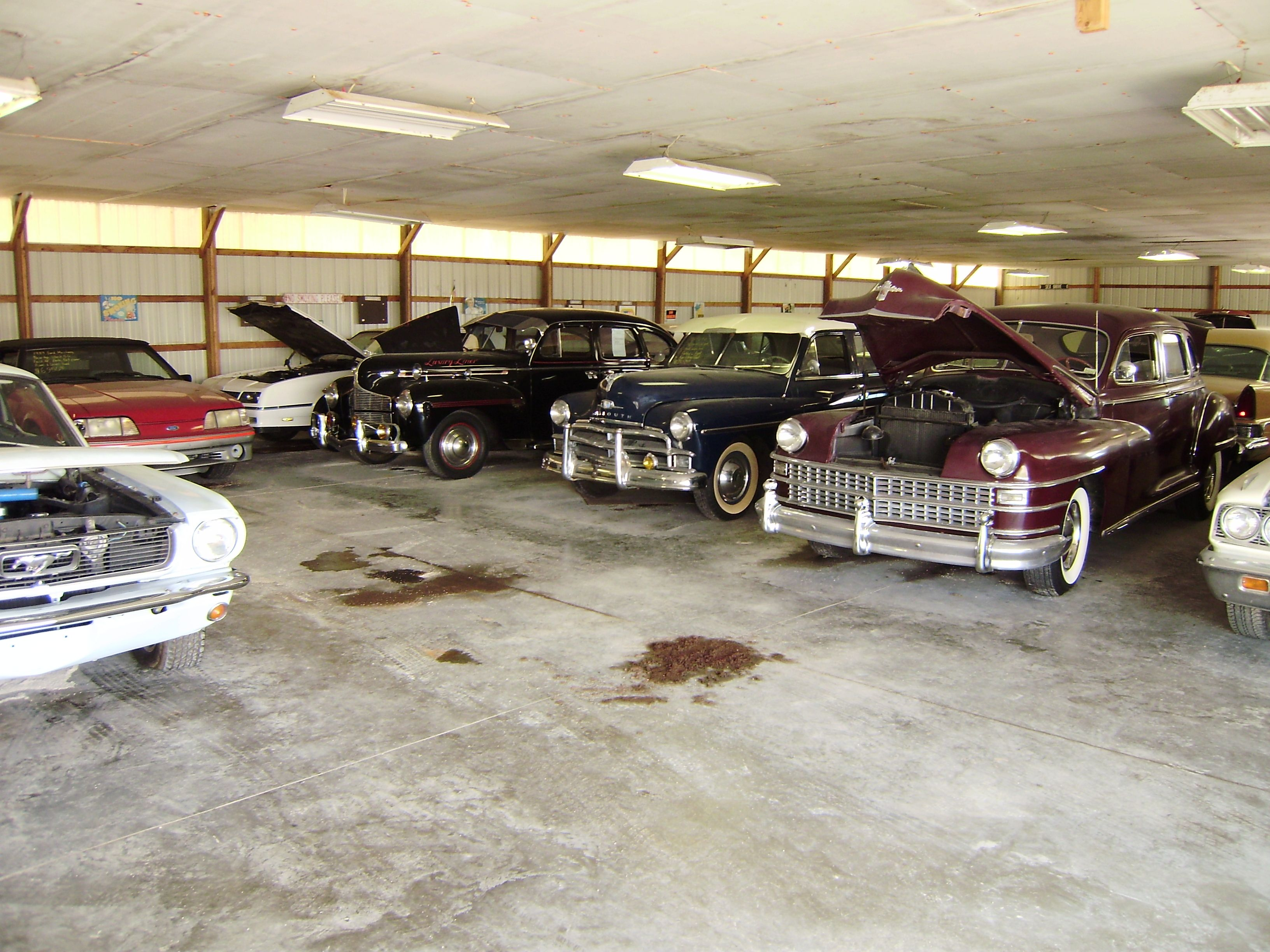 Massive Fire Damages Country Classic Cars in Staunton