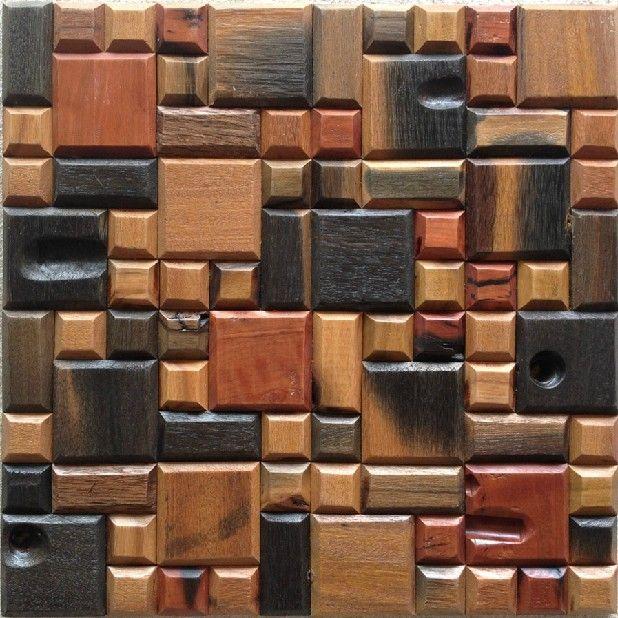 3d tile backsplash, 3D tile backsplash natural wood modaic tile wood mosaic  pattern, 3d - 3d Tile Backsplash, 3D Tile Backsplash Natural Wood Modaic Tile