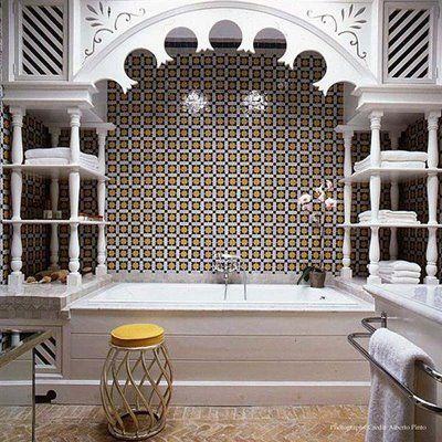 Modern Moroccan Bathroom Design moroccan style bathroom | moroccan decor, moroccan bathroom and