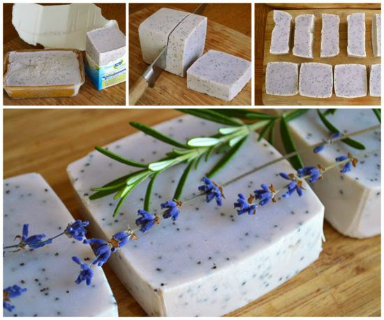 Lavender And Rosemary Scrubby Soap Recipe