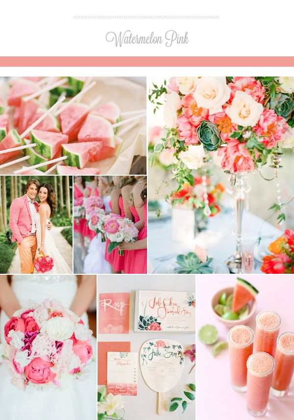 the prettiest wedding colors for summer 2015 weddings wedding and