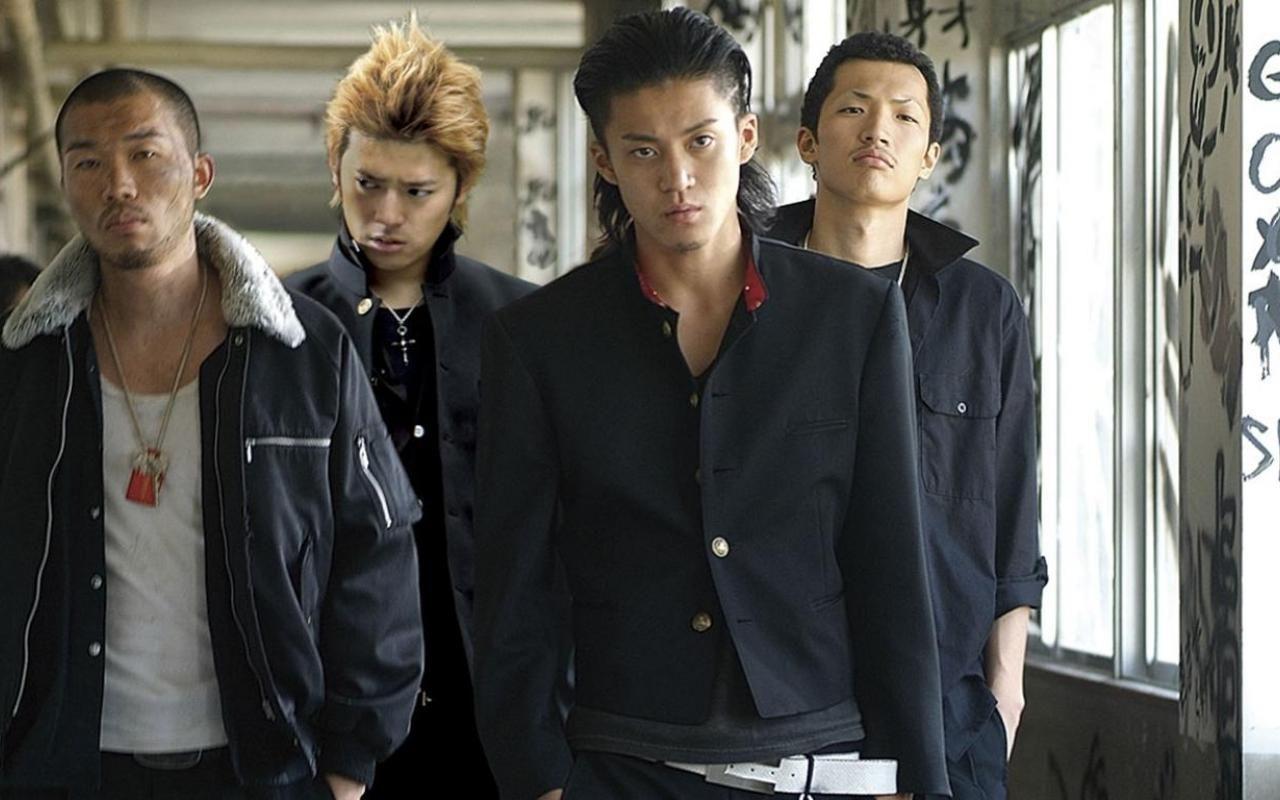 Live Action Genji Crows Zero Crows Zero Japanese Gangster