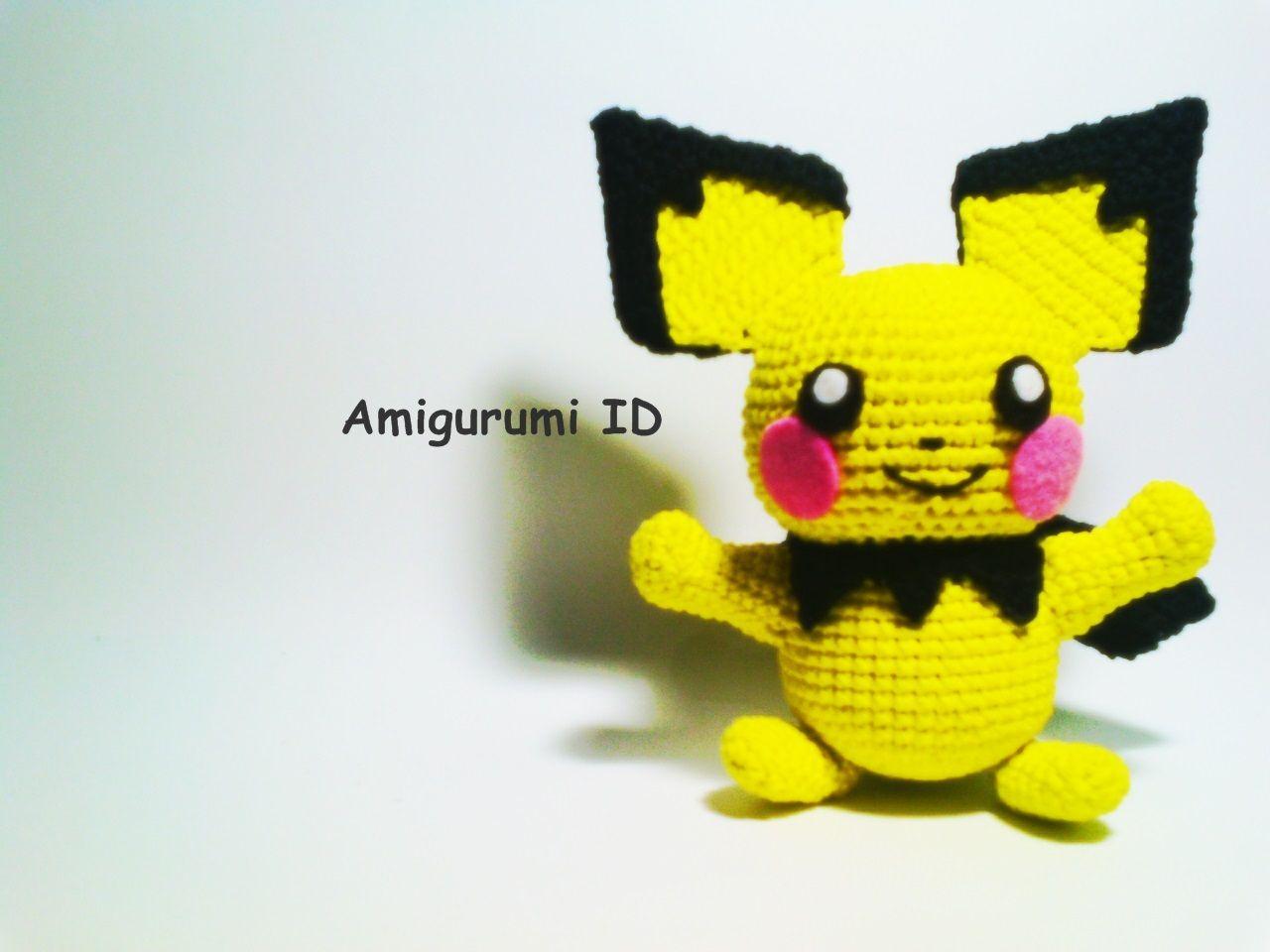 Amigurumi Pokemon Free Pattern (Pichu)   Amigurumi Patterns by ...