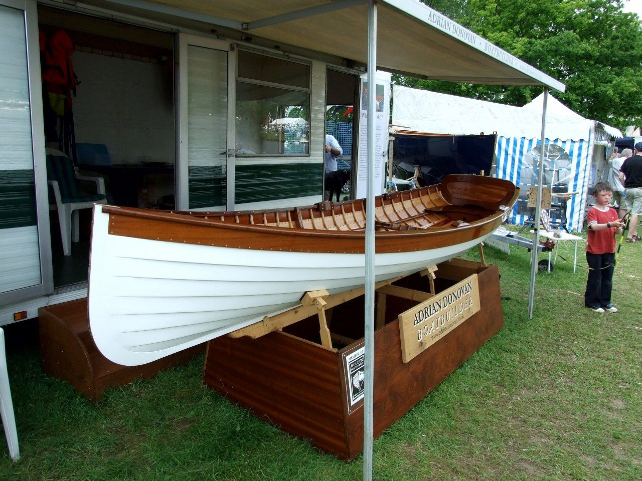 Rowing boats - A whitehall built in the UK