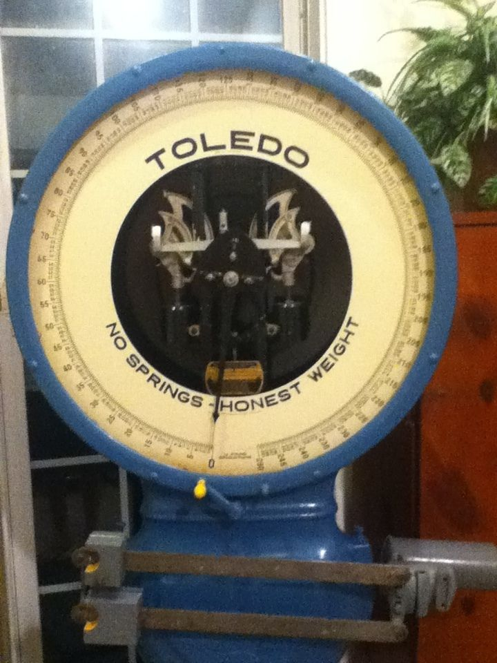 Vintage Scale Toledo Scale Vintage And Toledo Scale