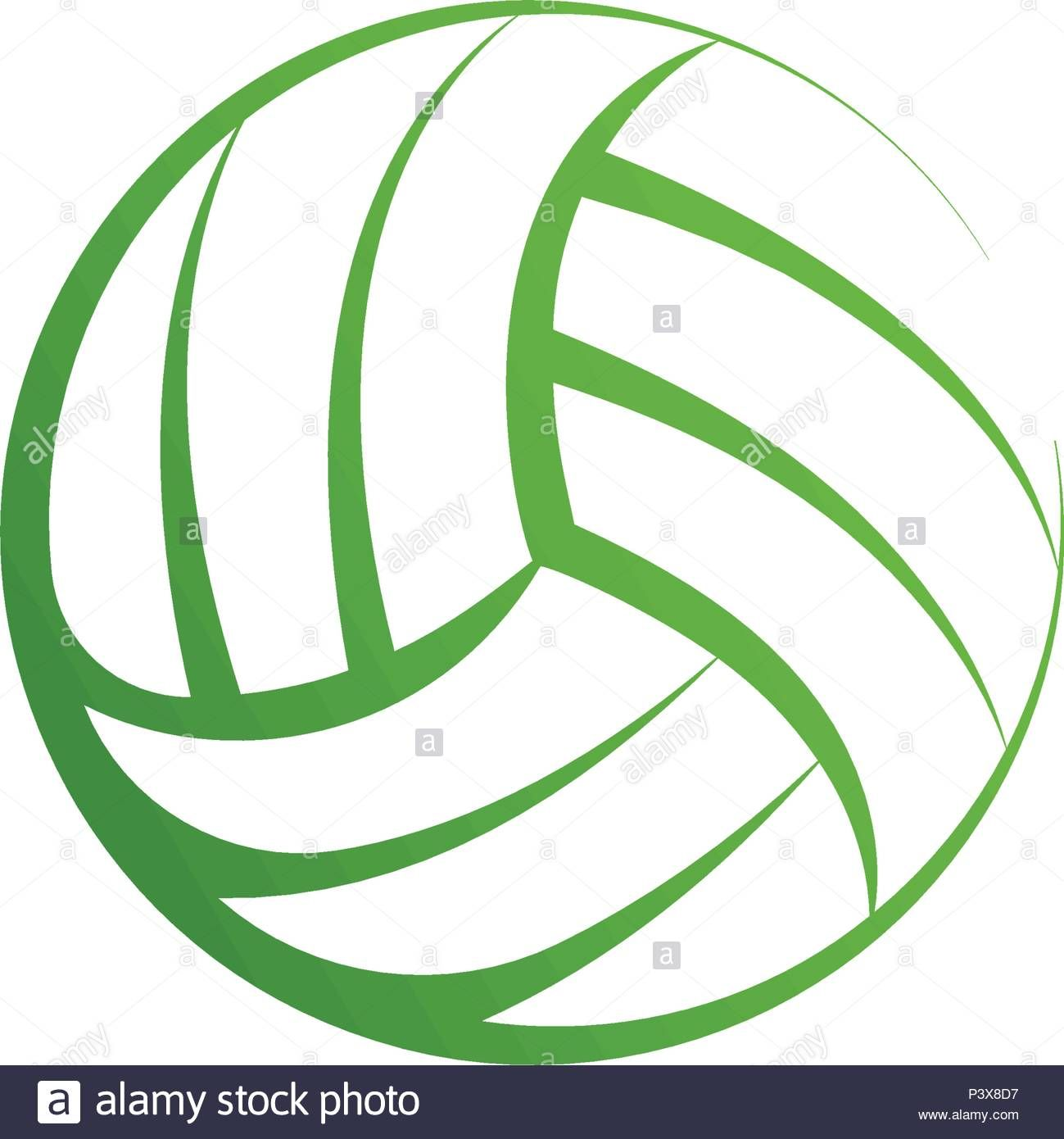 Download This Stock Vector Volleyball Logo Element Vector Volley Ball Icon Isolated Sport Sign Template Sum Sign Templates Vector Illustration Sports Signs
