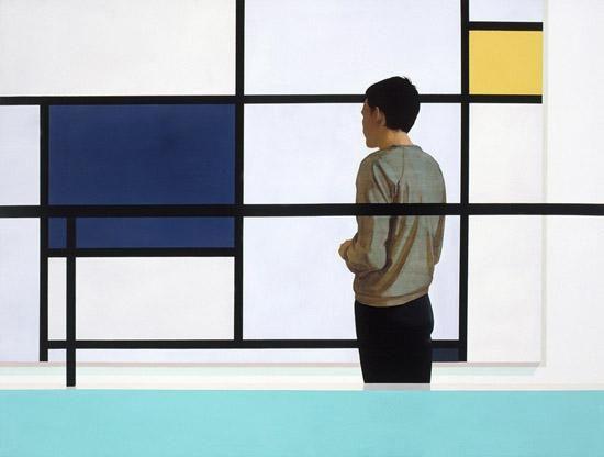Tim Eitel 1971 Gelb Und Blau 2002 Oil Acrylic On Canvas 150 X 200 Cm Galerie Eigen Art Http Www Eigen Art Com Inde Pop Art Illustration Art Painting