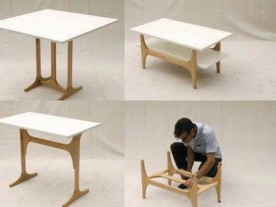 Folding Furniture Is Dining Table Desk And Coffee In One