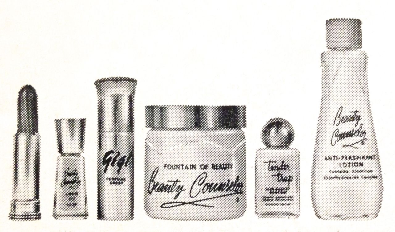 Beauty Counselor Cosmetics, 1964 Makeup, Cosmetic