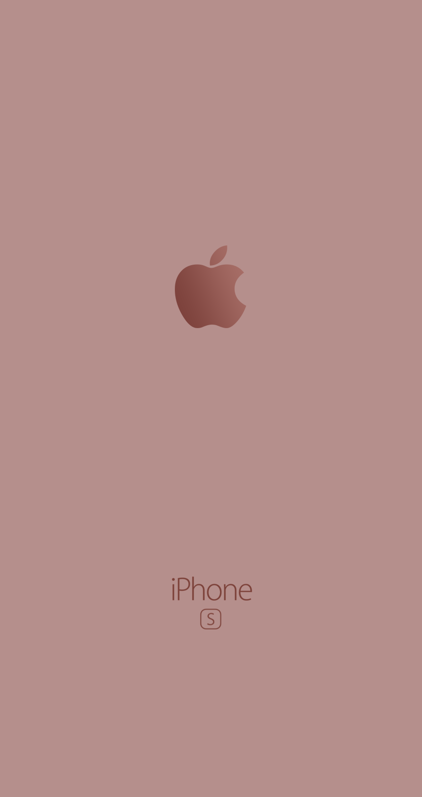 Iphone 6s Wallpaper pink logo apple fond d'écran rose