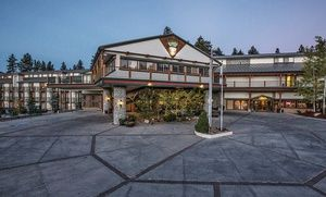 Groupon - 1-Night Stay for Up to Four with Breakfast Credit at Northwoods Resort Big Bear in Big Bear Lake, CA in Big Bear Lake, CA. Groupon deal price: $69