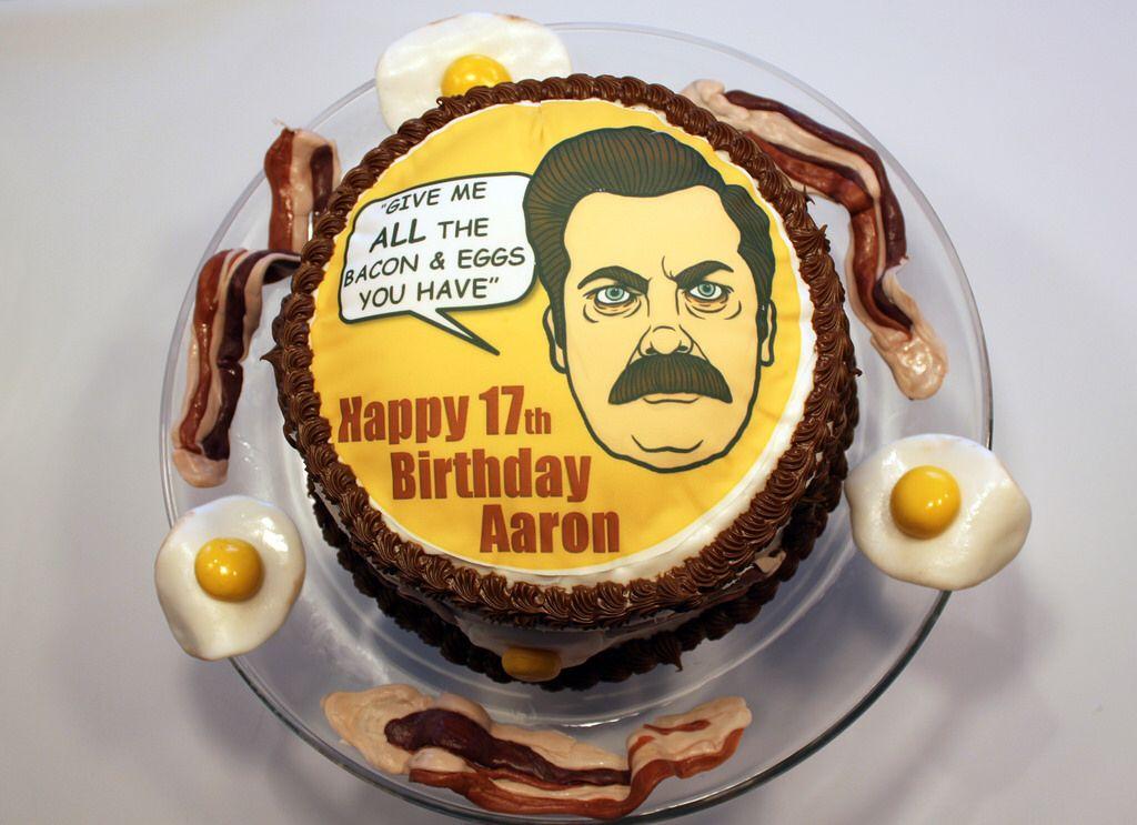 Pin On Ron Swanson Birthday