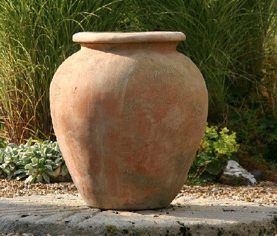 Merveilleux Italian Terrace Terracotta Pots, Planters, Oil Jars U0026 Plaques Large  Terracotta Pots, Large