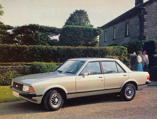 Ford Granada 1994 1995 Another Car I Drove In Europe Not