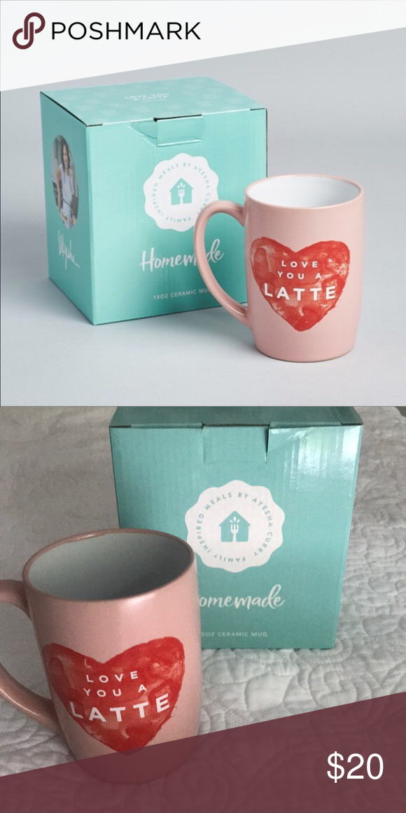 a2c1bf62b72 Ayesha Curry Love you A Latte Mug NEW in original box! Only taken ...