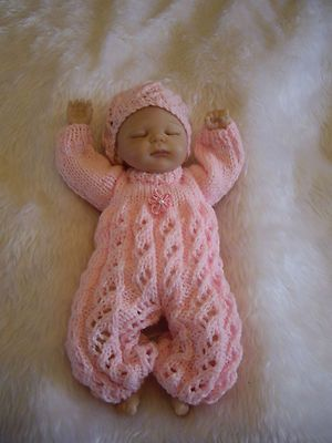 Hand Knitted Dolls Clothes For 10 11 Reborn Ooak Baby Pinterest