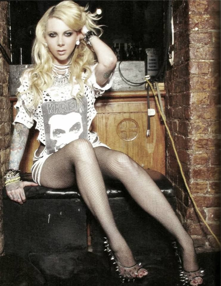 Maria Brink / shes ridiculously out there and I wld never look to her as a role model, but I love her edge