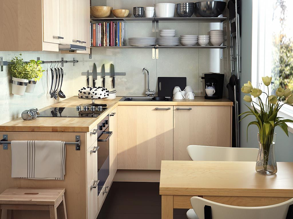 Small ikea kitchen for the home pinterest kitchens for Kitchen design for small space