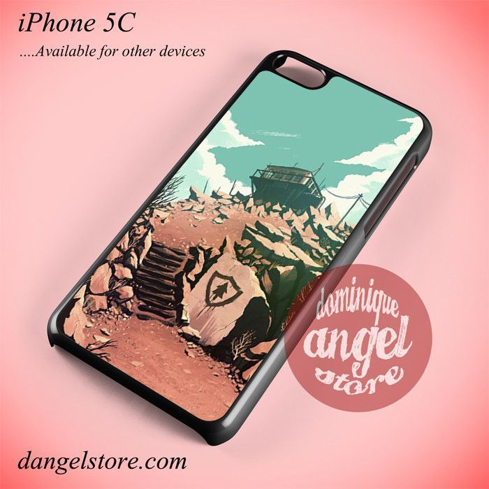Firewatch Game 2 Phone Case for iPhone 5C and Another iPhone Devices