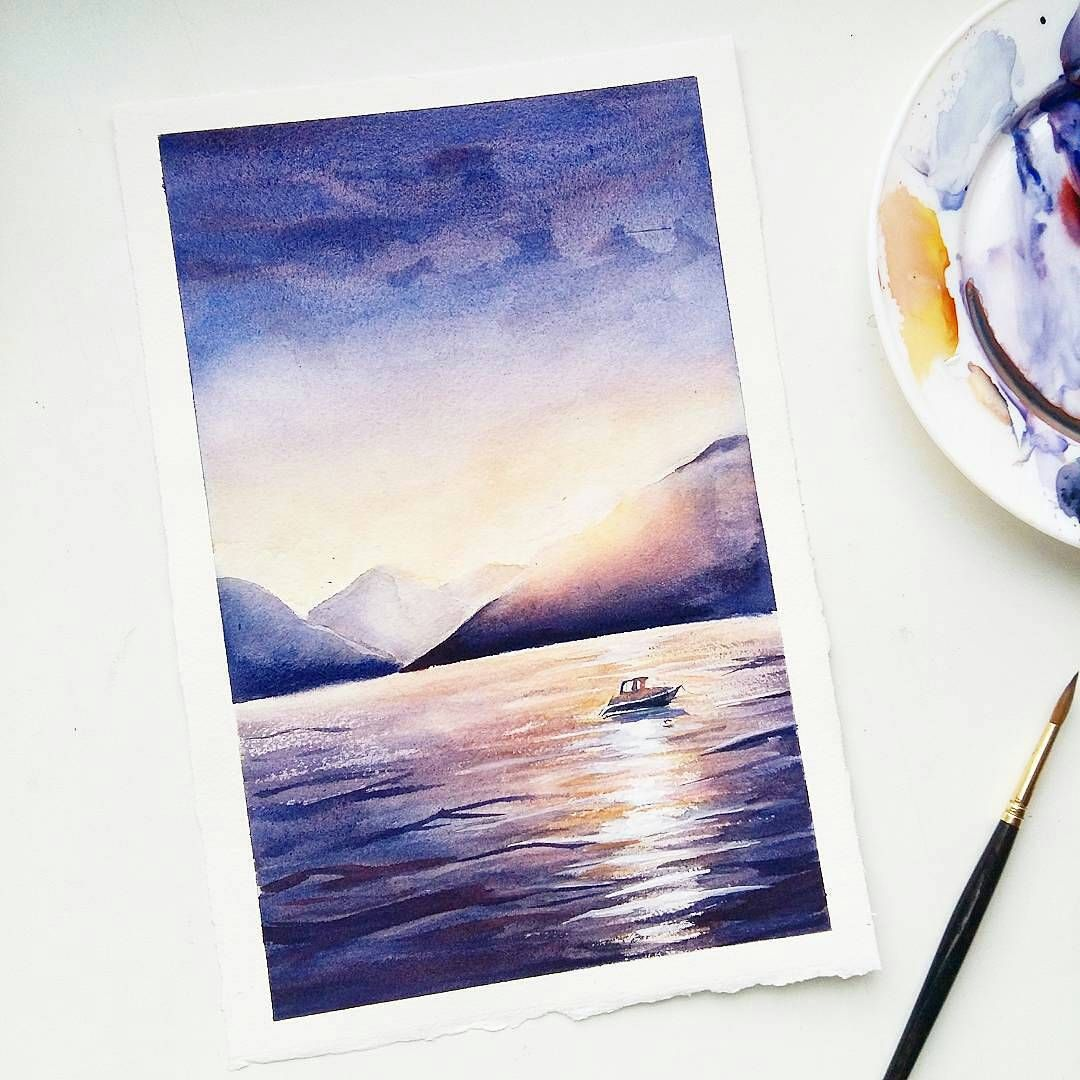 By Vesna V Serdce Tag Inspiring Watercolors For A Chance To Be
