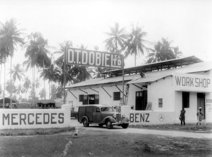 Car Dealerships In Columbia Mo >> 1950 D.T. Dobie & Co. Ltd. Mercedes Benz Dealership ...