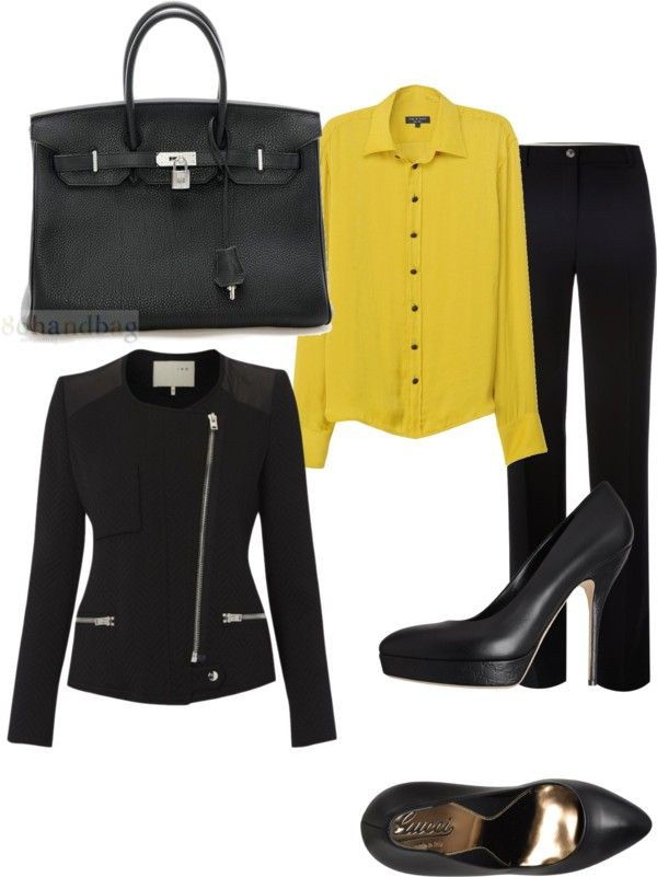 """business"" by luvbp4ever on Polyvore"