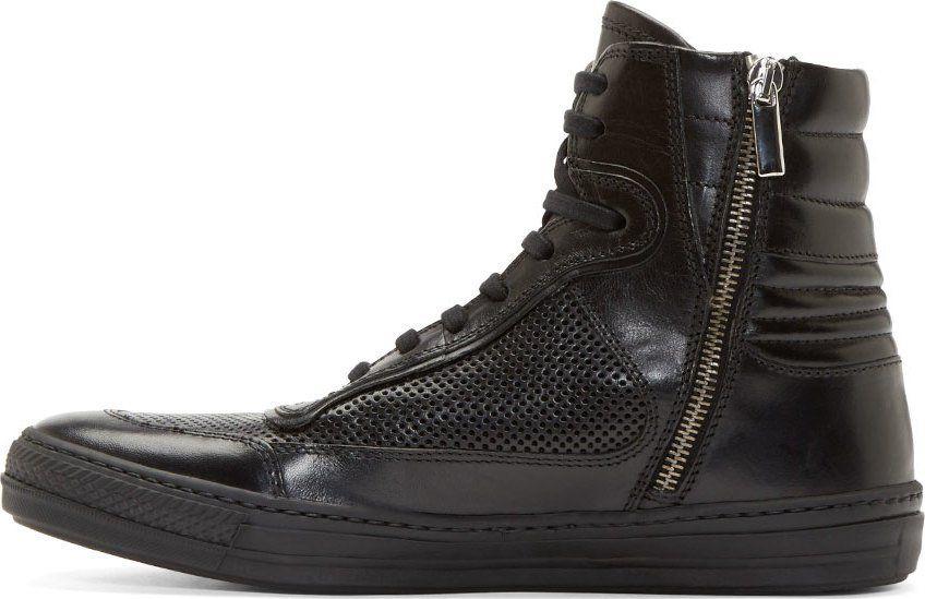 Diesel Black Gold - Black Leather Major