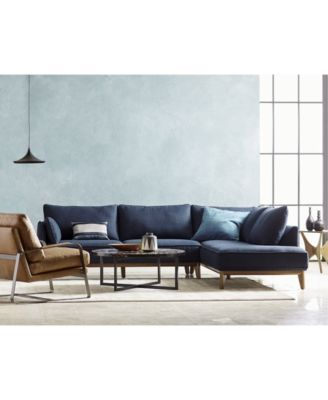 Magnificent Jollene Fabric Sectional And Sofa Collection Created For Theyellowbook Wood Chair Design Ideas Theyellowbookinfo