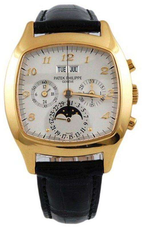 Patek Phillipe 18k. gold chronograph watch