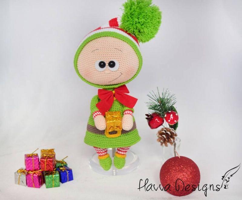 Bonnie With Elf Costume amigurumi pattern by Havva Designs ...