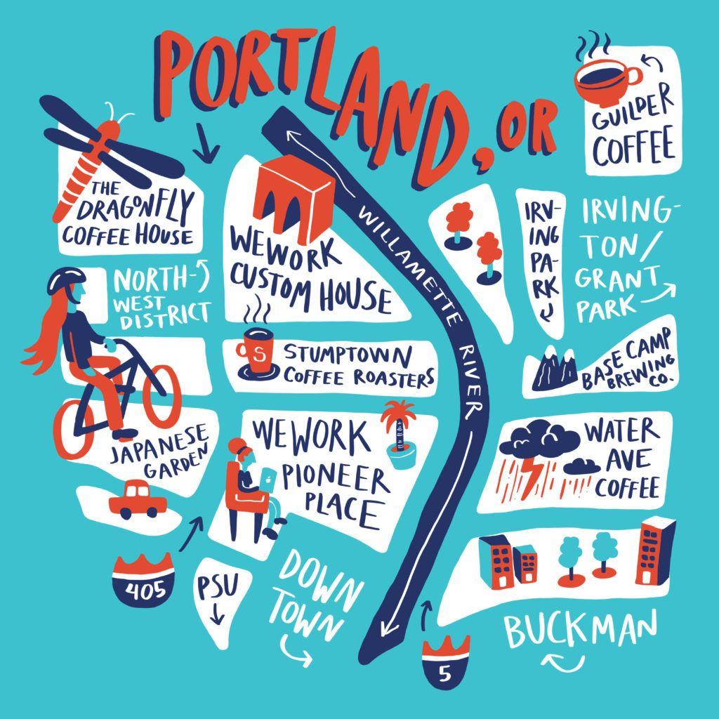 Best spots to cowork in portland oregon city guide