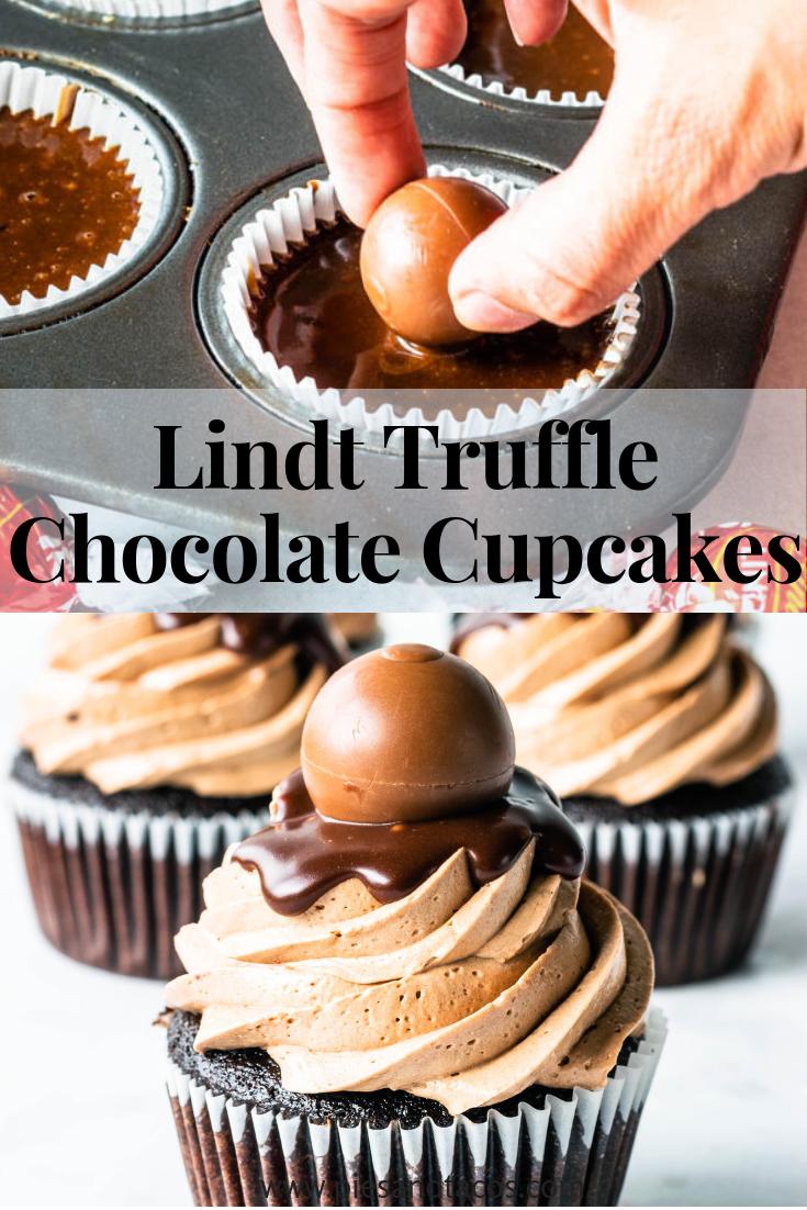 Lindt Truffle Chocolate Cupcakes | Recipe | Cupcake ...