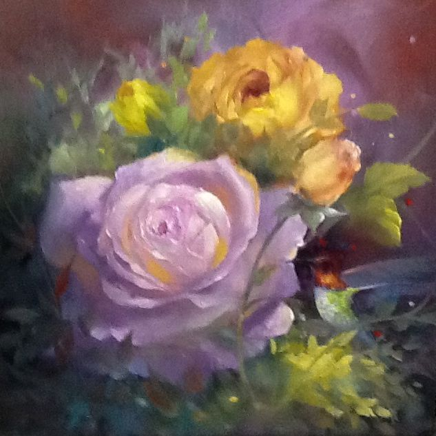 The Beauty of Oil Painting Series 1, Episode 5: English Roses ...