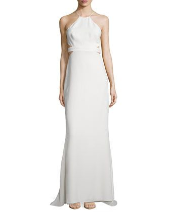 274b55c0ed8 Halter+Back-Cutout+Cocktail+Gown