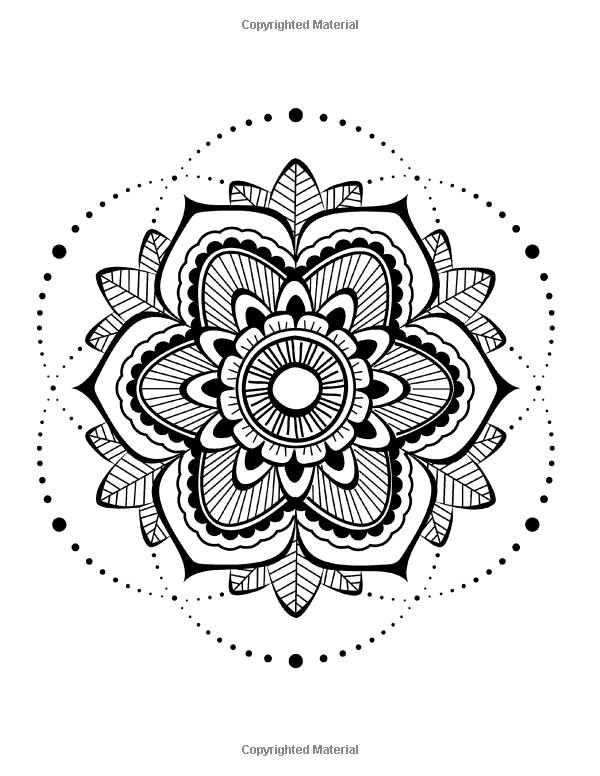 Zen Transcendental Mandala Coloring Book For Adults And Children Vol 1 Lilt Kids