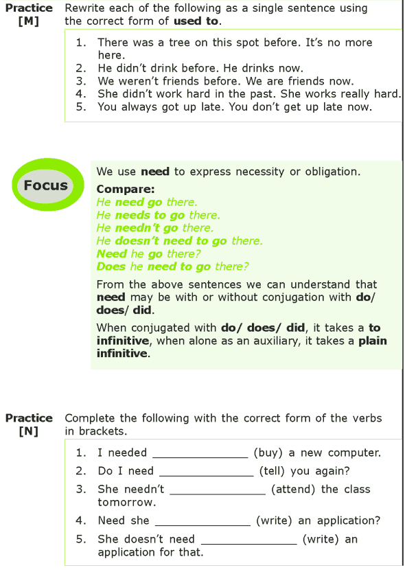 Grade 7 Grammar Lesson 10 Modals Projects To Try Pinterest