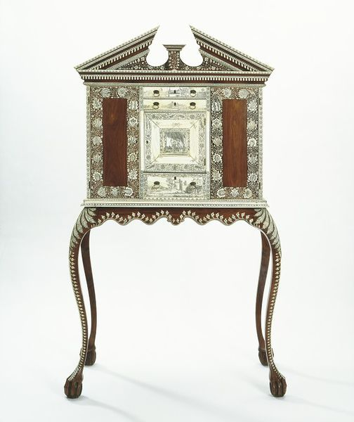 This Cabinet On Stand Is Inspired By English Models Made In 1725 1750 It Was At Vizagapatam A Port The East Coast Of India