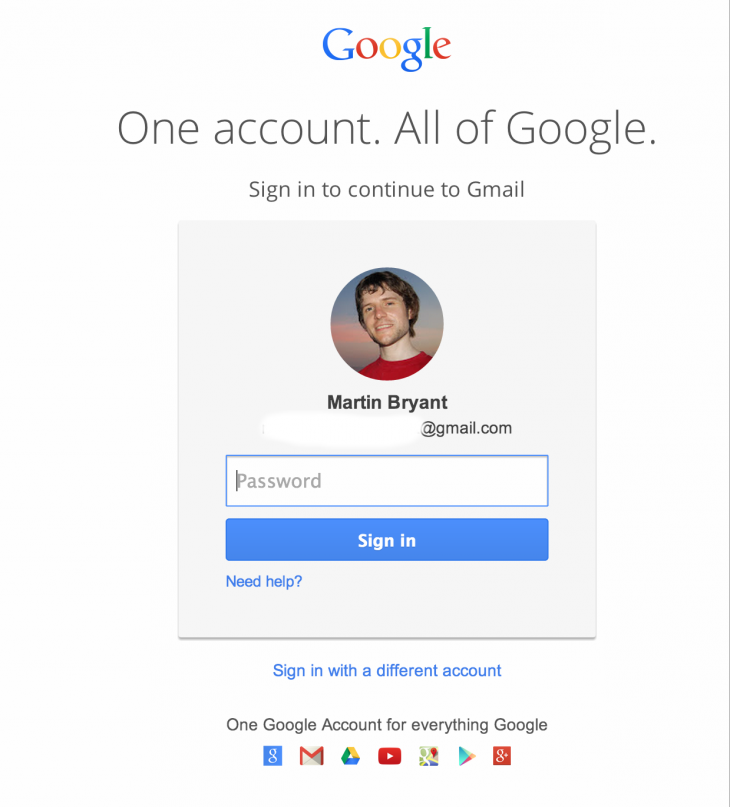 Gmail Gets Refreshed Log-in Page | New Web Apps | Gmail sign