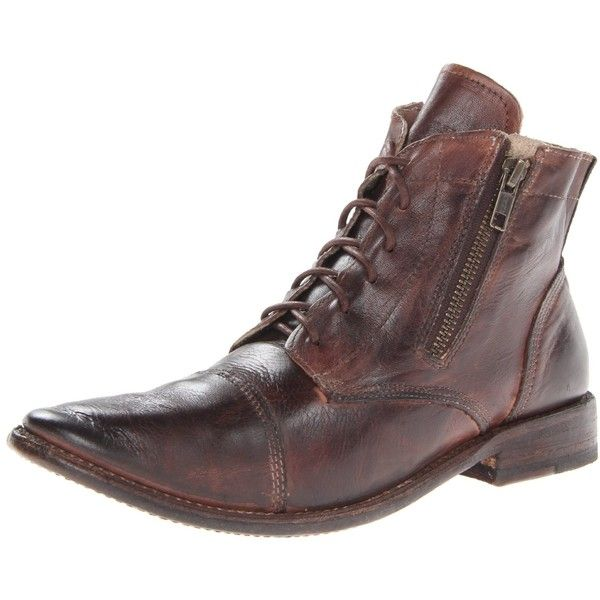Bed|Stu Bed Stu Women's Bonnie Bootie (€120) ❤ liked on Polyvore featuring shoes, boots, ankle booties, lace up boots, laced up boots, ankle boots, laced boots and lace up ankle boots