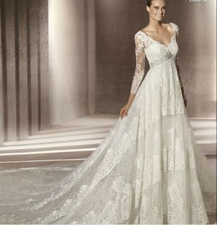 Full Figured Wedding Dresses With Sleeves Google Search