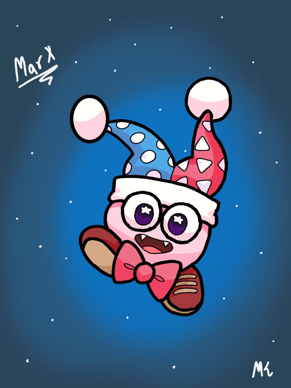 Marx Kirby By Maskedknightyt On Deviantart Kirby Art Kirby Cute Wallpaper For Phone