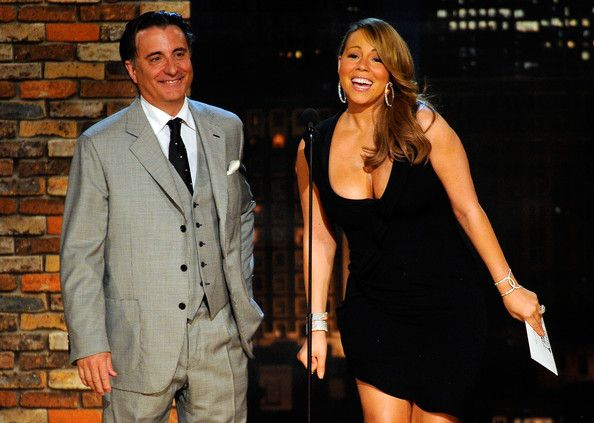 Mariah Carey Photos - Presnters Andy Garcia and Mariah Carey onstage during the 25th Film Independent's Spirit Awards held at Nokia Event Deck at L.A. Live on March 5, 2010 in Los Angeles, California. - 25th Film Independent Spirit Awards - Show