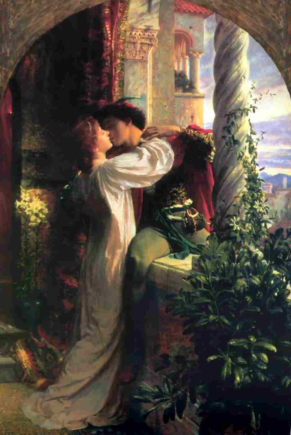 Romeo And Juliet Sir Frank Bernard Dicksee 1884 Famous British