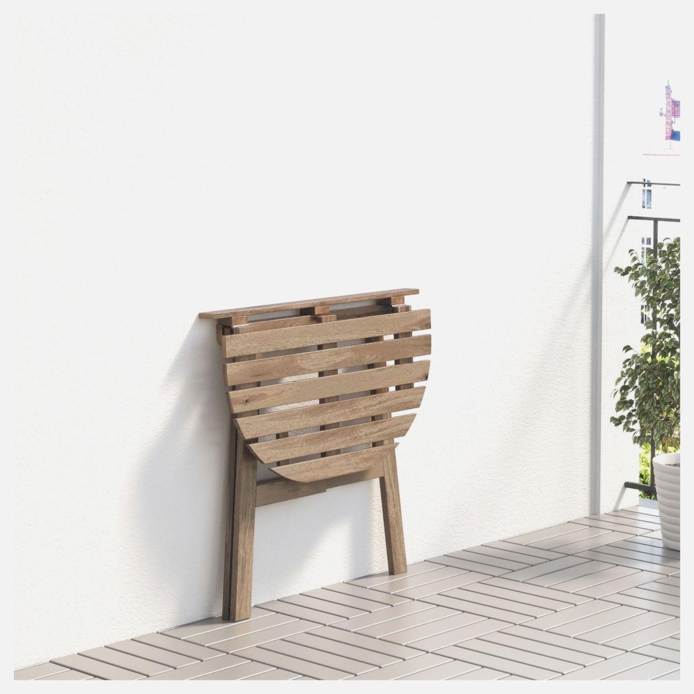Askholmen Aussen Gebeizt Graubraun Ikea Klappbar Wandtisch