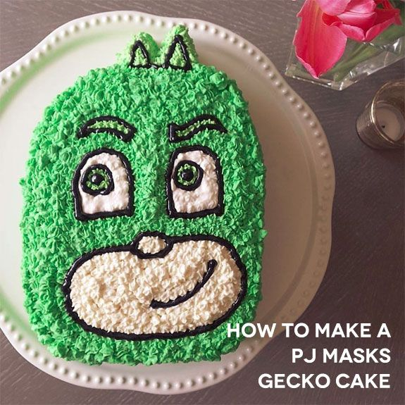 Mask Decorating Ideas Stunning How To Make A Pj Masks Gecko Cake  Cake Decorating Ideas 2018