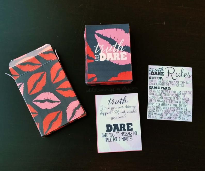 playing rules cards truth dare or couples