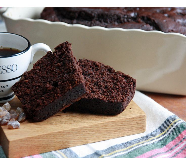 Chocolate Gingerbread Loaf: moist, rich and ready to fill any lunchbox.