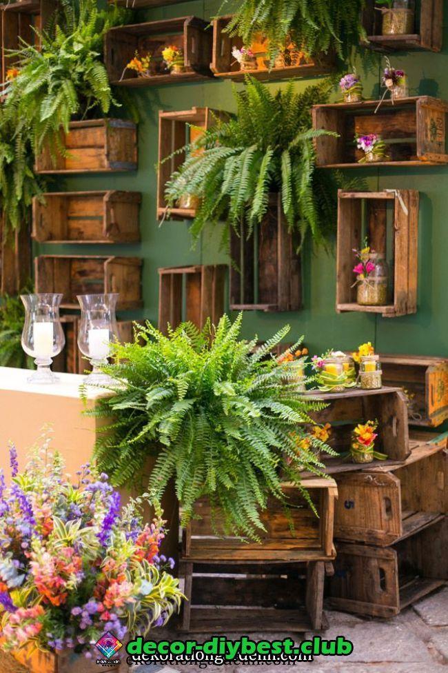 kronleuchter | Декор цветочного магазина, Ландшафтный ...