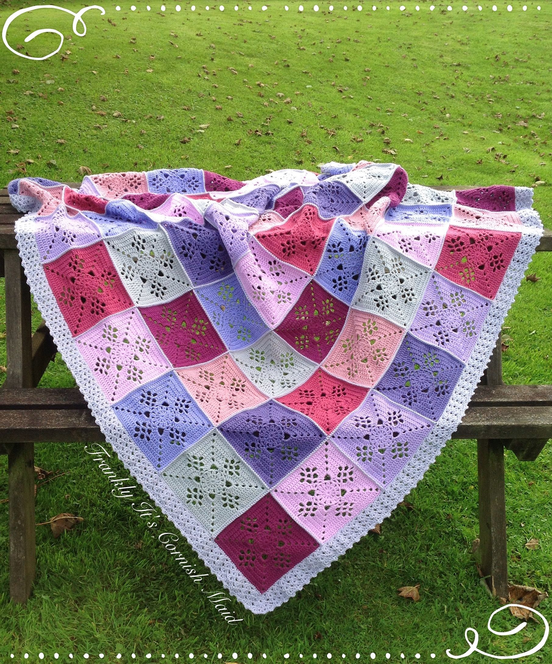 Victorian Lattice square blanket by Dystany Wymore. Made to order ...